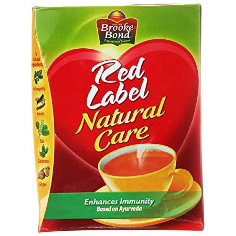 BROOKE BOND RED LABEL NATURAL CARE 100G