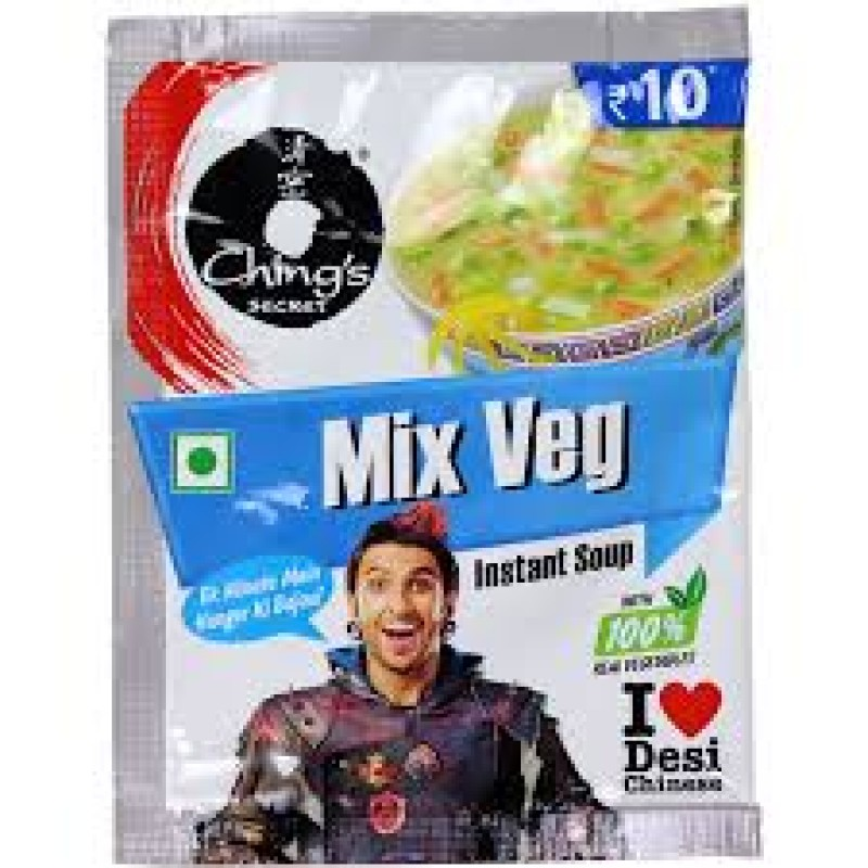 CHING'S MIX VEG INSTANT SOUP 15G