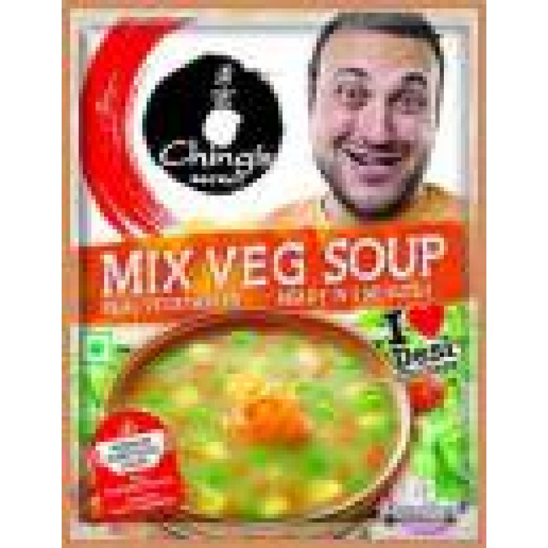 CHING'S MIX VEG SOUP 55G
