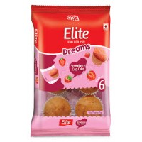 ELITE DREAMS STRAWBERRY CUP CAKE 160G