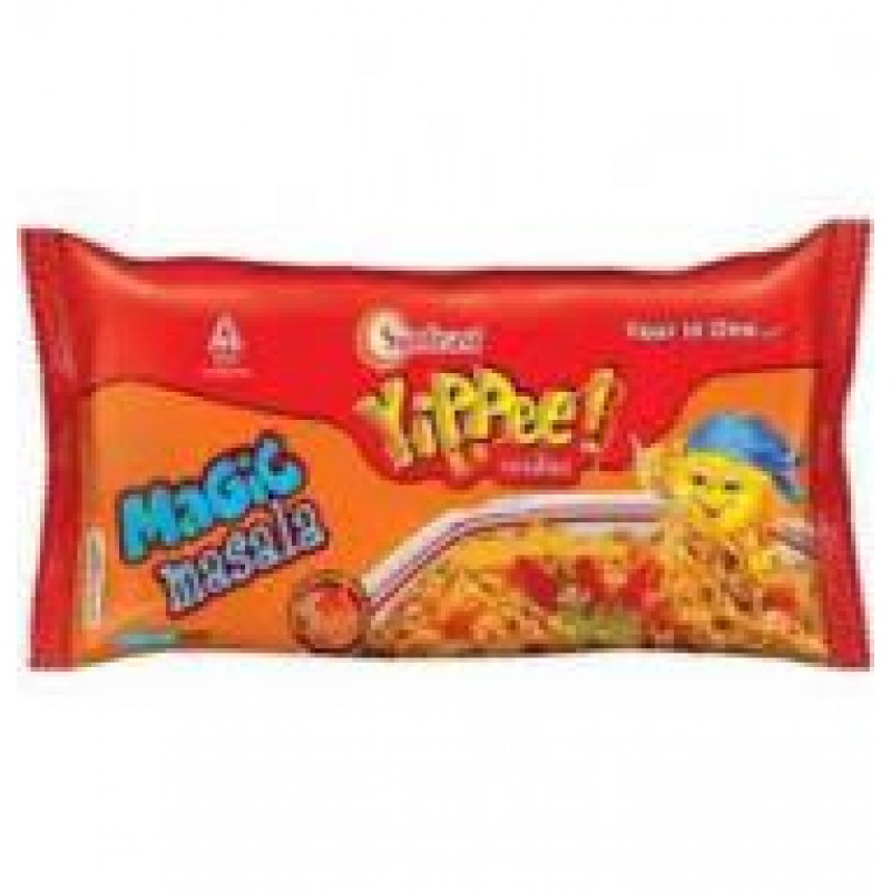YIPEE MAGIC MASALA NOODLES 420G WITH FREE MICROWAVE PLATE