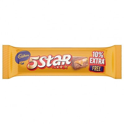 CADBURY FIVE STAR 11.1G