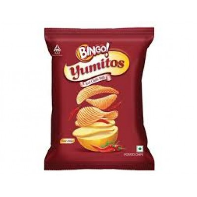 BINGO POTATO CHIPS CHILLI 12G