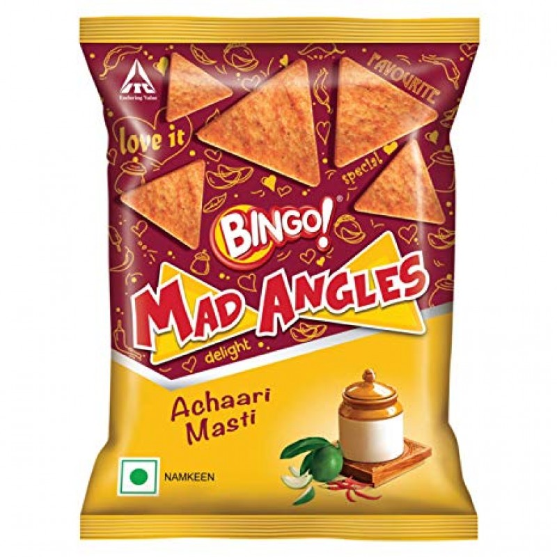BINGO MAD ANGLES ACHAARI MASTI 80G