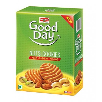 BRITANNIA GOOD DAY NUTS COOKIE 250G