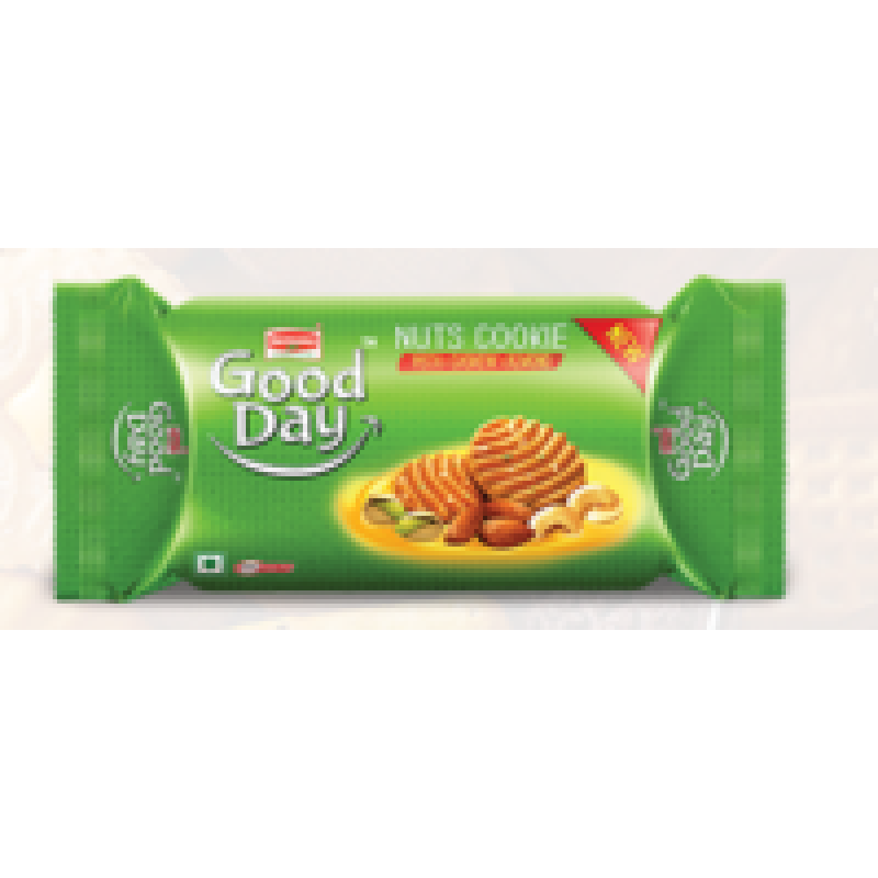 BRITANNIA GOOD DAY NUTS COOKIE 60G