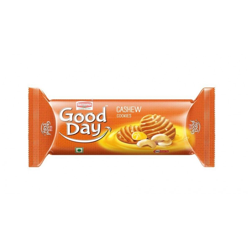 BRITANNIA GOOD DAY CASHEW COOKIES 100G