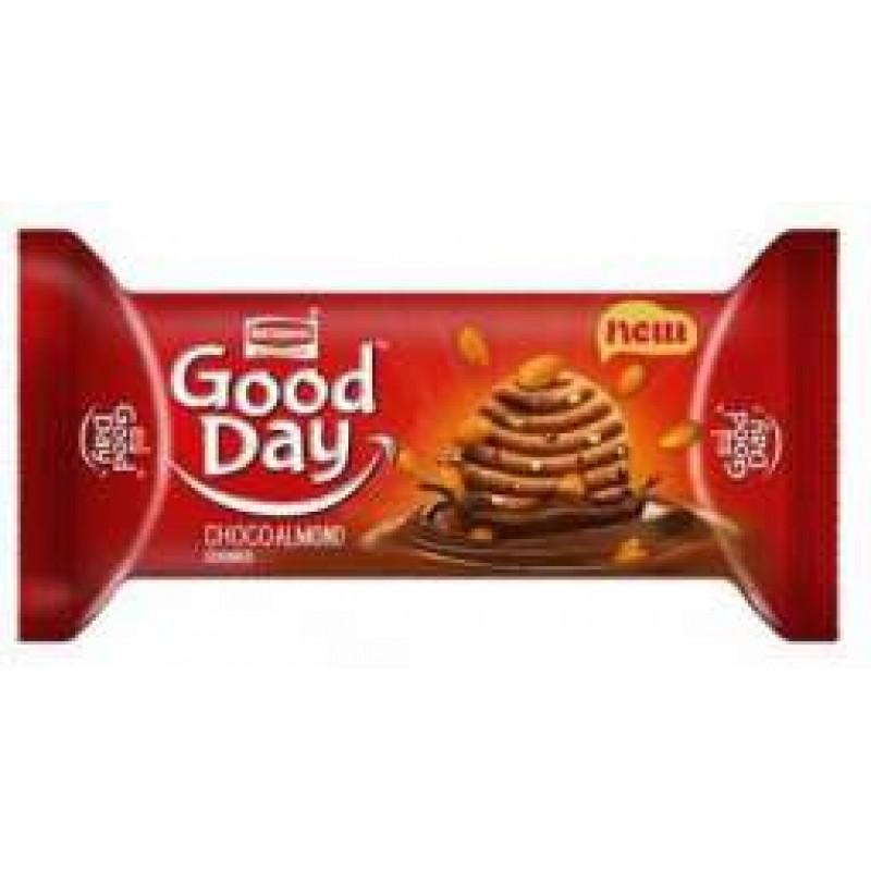 BRITANNIA GOOD DAY CHOCOALMOND COOKIES 100G