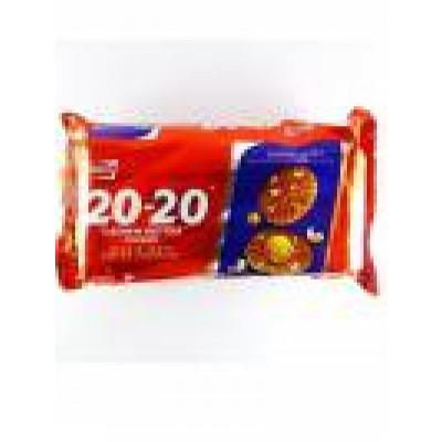 PARLE 20-20 CASHEW COOKIES 84G