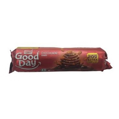 BRITANNIA GOOD DAY CHOCOALMOND COOKIES 120G