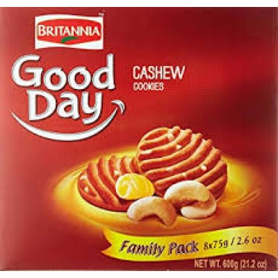 BRITANNIA GOOD DAY CASHEW COOKIES SUPER SAVER PACK 600G