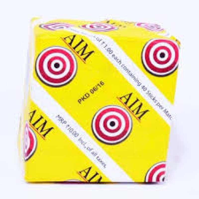 AIM WAX MATCH BOX
