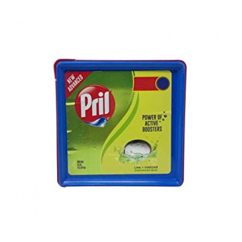 PRIL LIME+VINEGAR DISHWASH BAR 500G