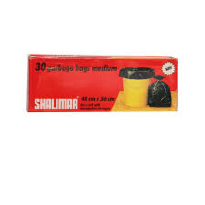 SHALIMAR GARBAGE BAGS - 30 BAGS - SMALL