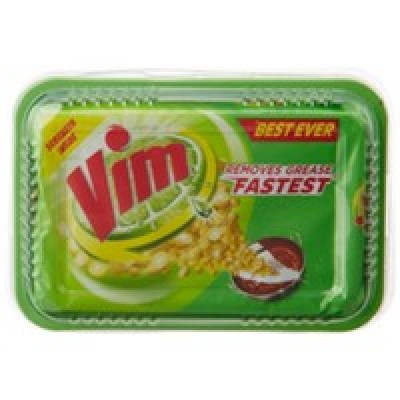 VIM BEST EVER DISH WASH TUB WITH SCRUBBER 250G