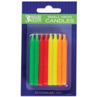 VISHNU BIRTHDAY CANDLES (15 PC)