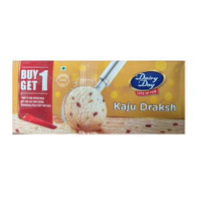 Dairy Day KAJU DRAKSH - BUY ONE GET ONE FREE
