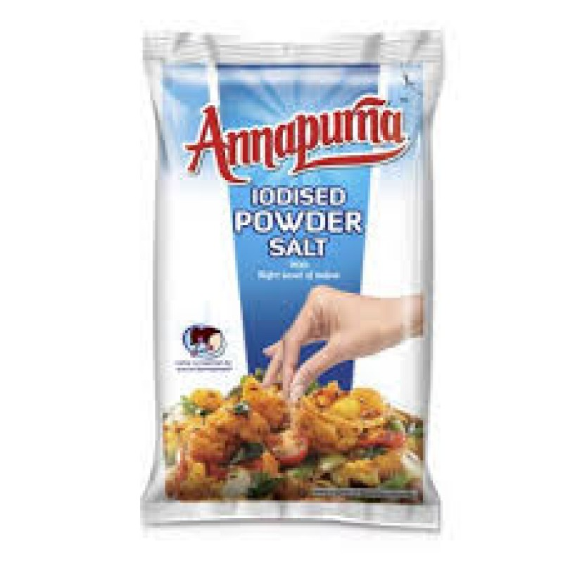 ANNAPURNA IODISED POWDER SALT 1KG
