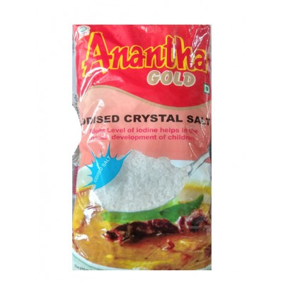 ANANTHA GOLD IODISED CRYSTAL SALT 1KG